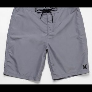 "Men's, Hurley ""One And Only"" Board Shorts, Gray"